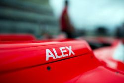 Manor F1 Team car of Alexander Rossi, Manor F1 Team in the pits