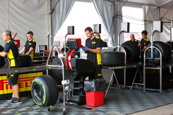Ingenieros de neumáticos Pirelli
