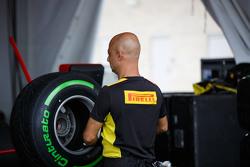 Ingeniero de neumáticos Pirelli