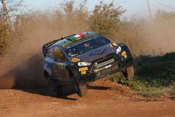 Lorenzo Bertelli y Giovanni Bernacchini, Ford Fiesta WRC