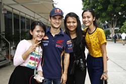Dani Pedrosa, Repsol Honda Team con fans