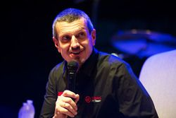 Guenther Steiner, Haas F1 Team Principal at the Fans' Forum