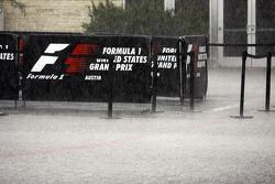 Heavy rainfall delays the start of FP3