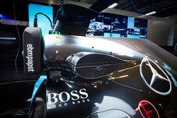 Teknologi pengumpulan informasi nirkabel di Mercedes AMG F1 W06