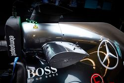 Mercedes AMG F1 W06 üzerinde kablosuz bilgi toplama teknolojisi