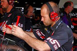 Mechanic for Kurt Busch, Stewart-Haas Racing Chevrolet