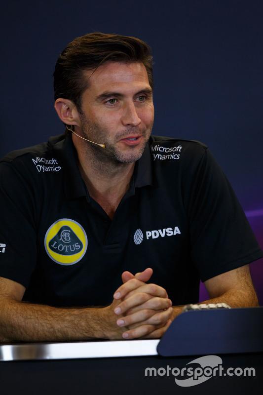 Мэттью Картер, генеральный директор Lotus F1 Team на пресс-конференции FIA