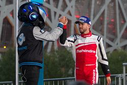 Third place Nick Heidfeld, Mahindra Racing