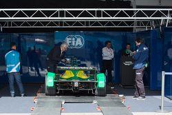 Les vérifications techniques de la FIA