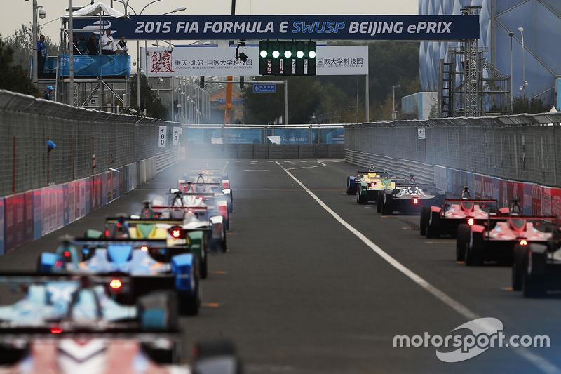 Start ePrix Beijing 2015