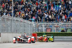 Nick Heidfeld, Mahindra Racing et Lucas di Grassi, ABT Schaeffler Audi Sport