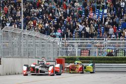 Nick Heidfeld, Mahindra Racing y Lucas di Grassi, ABT Schaeffler Audi Sport