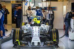 Valtteri Bottas'ın Williams FW37'si, Williams