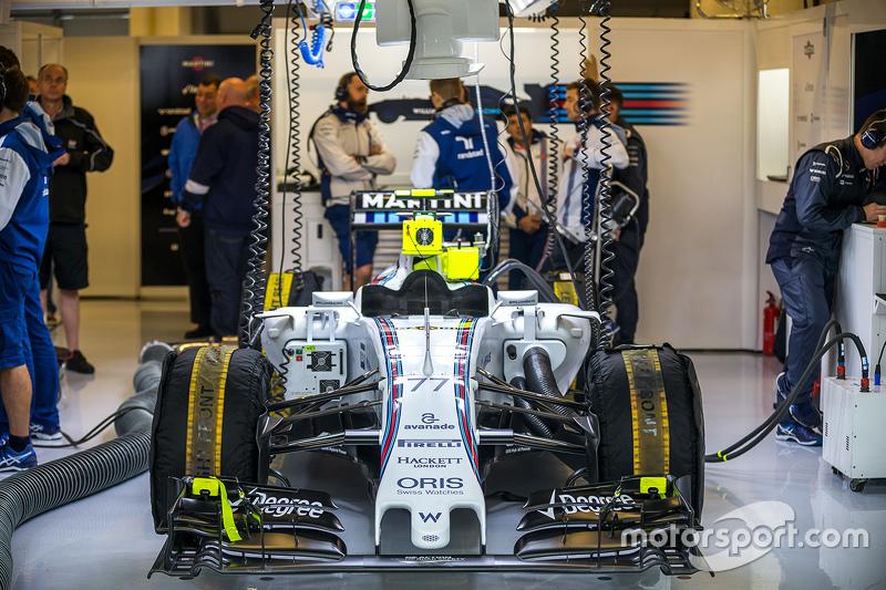 Williams FW37 of Valtteri Bottas, Williams