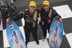 Ganadores Shane van Gisbergen, Jonathon Webb, Tekno Autosports Holden