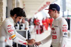 Carlos Sainz Jr., Scuderia Toro Rosso en Max Verstappen, Scuderia Toro Rosso