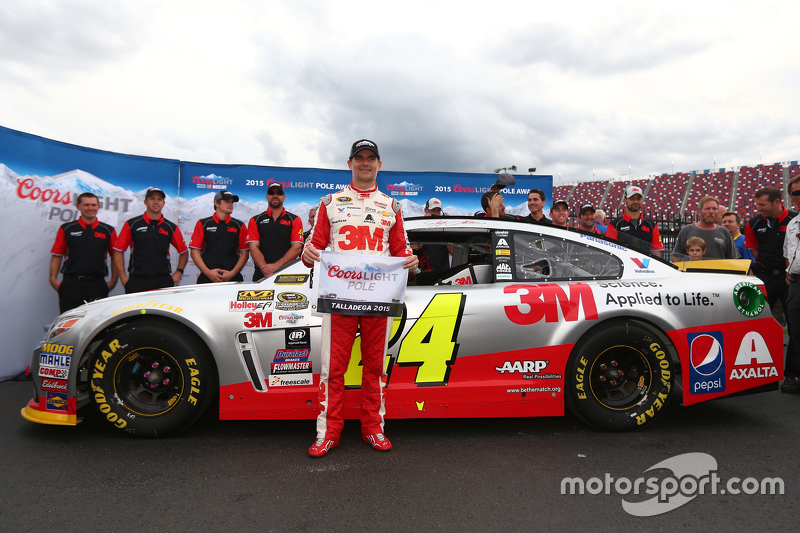 Jeff Gordon en pole