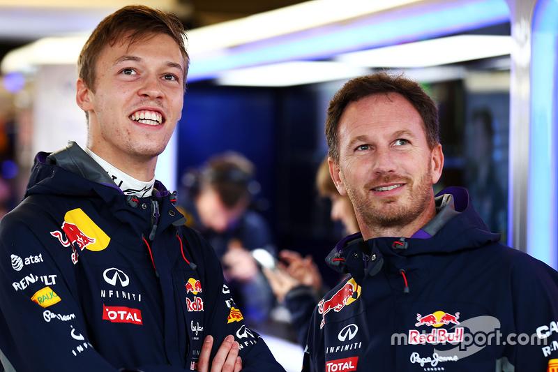 2015 год. В боксах Red Bull с Кристианом Хорнером во время воскресной квалификации