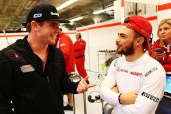 (L to R): Conor Daly, with Will Stevens, Manor Marussia F1 Team