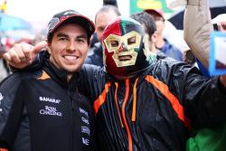 Серхио Перес, Sahara Force India F1 с фанатами
