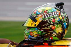 Helmet of Kyle Busch, Joe Gibbs Racing Toyota