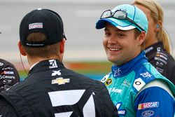 Ricky Stenhouse Jr., Roush Fenway Racing Ford and Jamie McMurray, Chip Ganassi Racing Chevrolet
