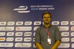杰克·尼克拉斯,FE官方解说, 2015北京ePrix
