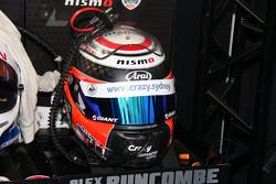 Casco de Alex Buncombe, Nissan Motorsports