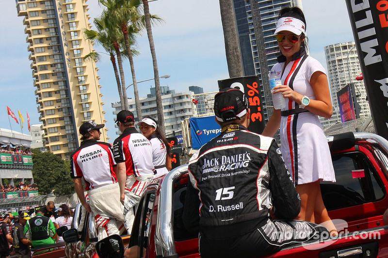 La chica de la parrilla de David Russell, Nissan Motorsports