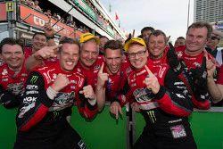 Winners James Courtney and Jack Perkins, Holden Racing Team
