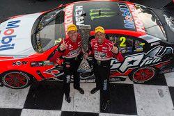 1. Pirtek Endure Cup: Garth Tander und Warren Luff, Holden Racing Team