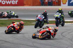 Start: Dani Pedrosa, Repsol Honda Team leads