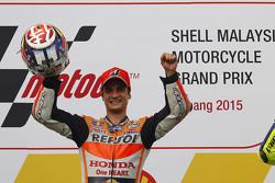 Подіум: winner Дані Педроса, Repsol Honda Team