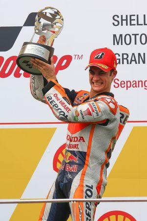 Подиум: победитель - Дани Педроса, Repsol Honda Team