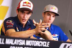 Marc Marquez, Repsol Honda Team en la conferencia de prensa
