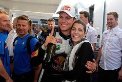 Il vincitore Andreas Mikkelsen, Volkswagen Motorsport