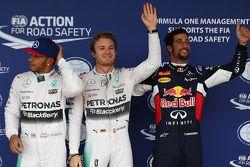 Qualifying: polesitter Nico Rosberg, Mercedes AMG F1, second place Lewis Hamilton, Mercedes AMG F1,