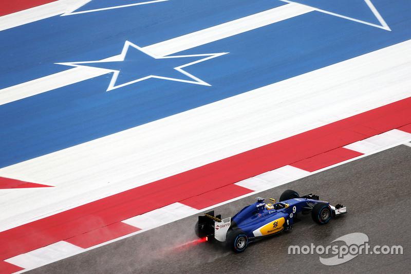Маркус Ерікссон, Sauber C34 під час кваліфікації