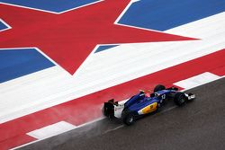 Felipe Nasr, Sauber C34 lors des qualifications