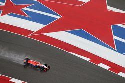 Alexander Rossi, Manor Marussia F1 Team lors des qualifications