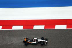 Nico Hulkenberg, Sahara Force India F1 VJM08 nella sessione di qualifica