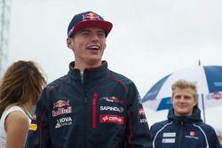 Max Verstappen, Scuderia Toro Rosso on the drivers parade