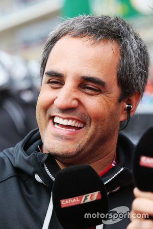 Juan Pablo Montoya, sur la grille