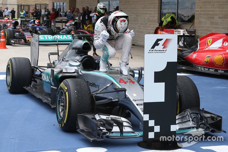 7º Lewis Hamilton - 19 corridas - De Itália 2014 até Itália 2015 - Mercedes