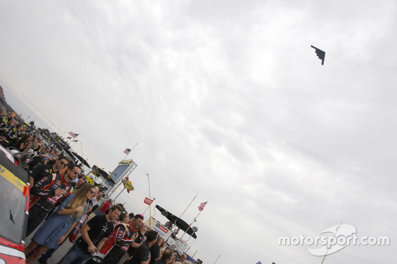 B-2 fly over