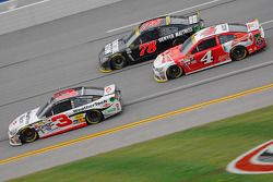 Austin Dillon, Richard Childress Racing Chevrolet and Martin Truex Jr., Furniture Row Racing Chevrol