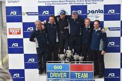 Podio: Giorgio Mondini, Eurointernational festeggia con la squadra la vittoria del campionato