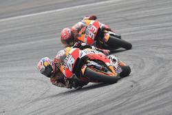 Dani Pedrosa and Marc Marquez, Repsol Honda Team
