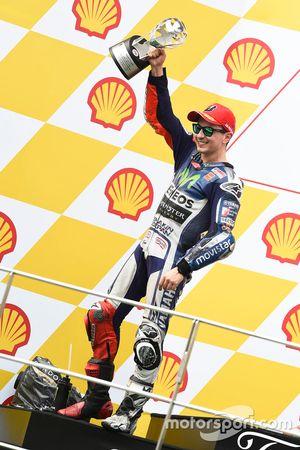 Подиум: второе место - Хорхе Лоренсо, Yamaha Factory Racing