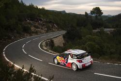 Stéphane Lefebvre et Stéphane Prévot, Citroën DS3 WRC, Citroën World Rally Team